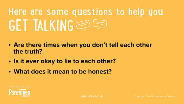 Get Talking (Responsibility) questions